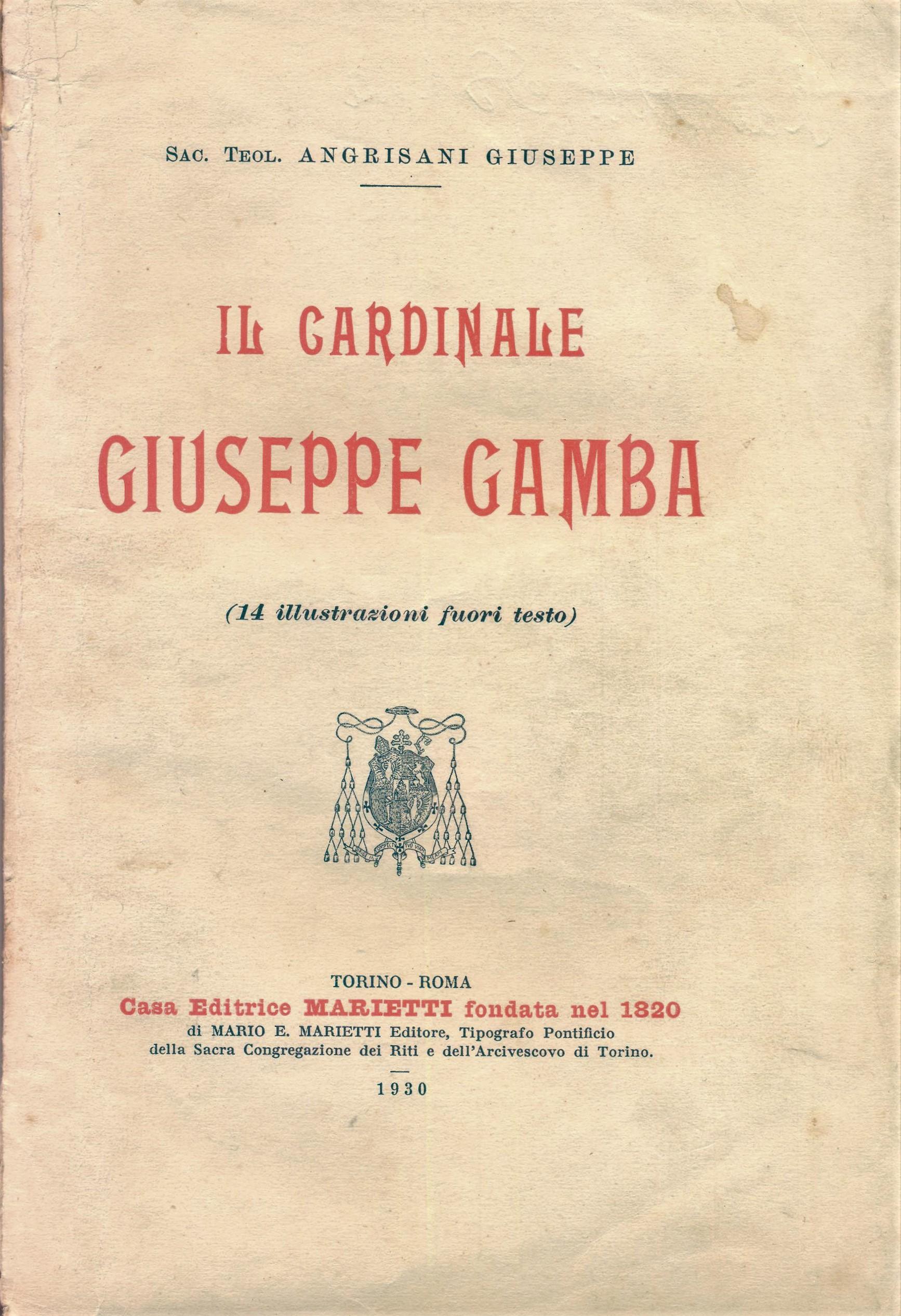Il Cardinale Giuseppe Gamba