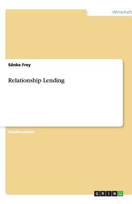 Relationship Lending