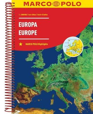 Marco Polo Road Atlas Europe