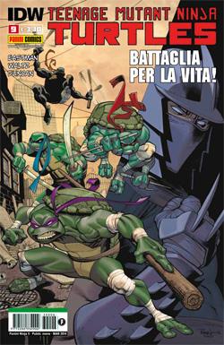Teenage Mutant Ninja Turtles n. 9