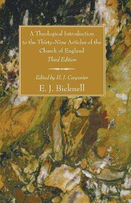 A Theological Introduction to the Thirty-Nine Articles of the Church of England