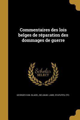 FRE-COMMENTAIRES DES LOIS BELG