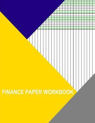 Finance Paper Workbook, Two Columns Landscape