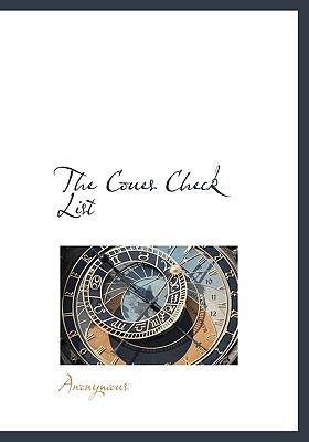 Coues Check List