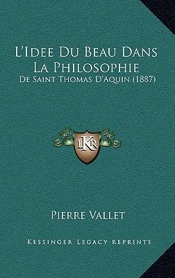 L'Idee Du Beau Dans La Philosophie