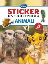 Animali. Sticker enciclopedia