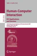 Human-Computer Interaction. HCI Applications and Services