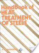 Handbook of Heat Treatment of Steels