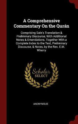 A Comprehensive Commentary on the Quran