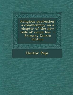 Religious Profession