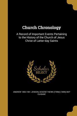 CHURCH CHRONOLOGY