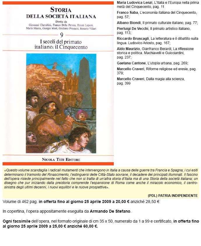 Storia della società italiana