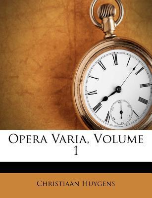 Opera Varia, Volume ...
