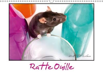 Ratte Ouille (Calendrier mural 2017 DIN A3 horizontal)