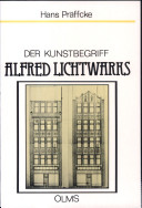 Der Kunstbegriff Alfred Lichtwarks