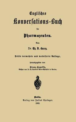 Englisches Konversations-Buch für Pharmazeuten