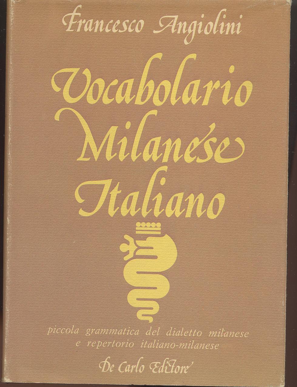 Vocabolario Milanese Italiano