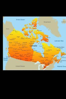 Map of Canada Journa...