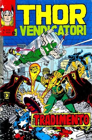 Thor e i Vendicatori (Il Mitico Thor) n. 216