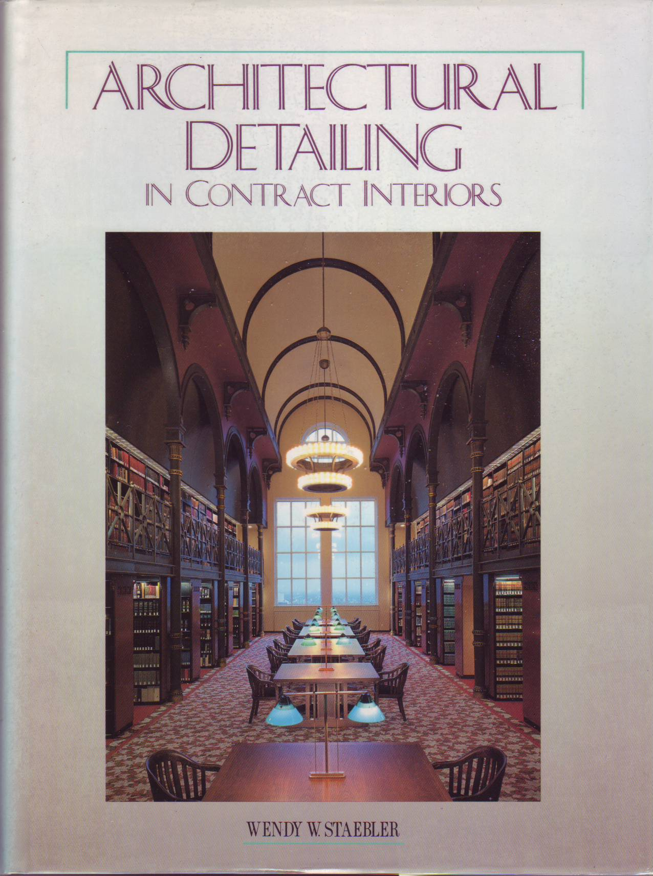Architectural Detailing in Contract Interiors