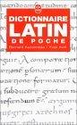 Dictionnaire de latin de poche