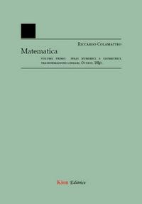 Matematica - Vol. 1