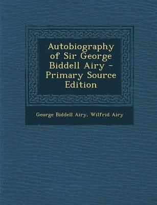 Autobiography of Sir...