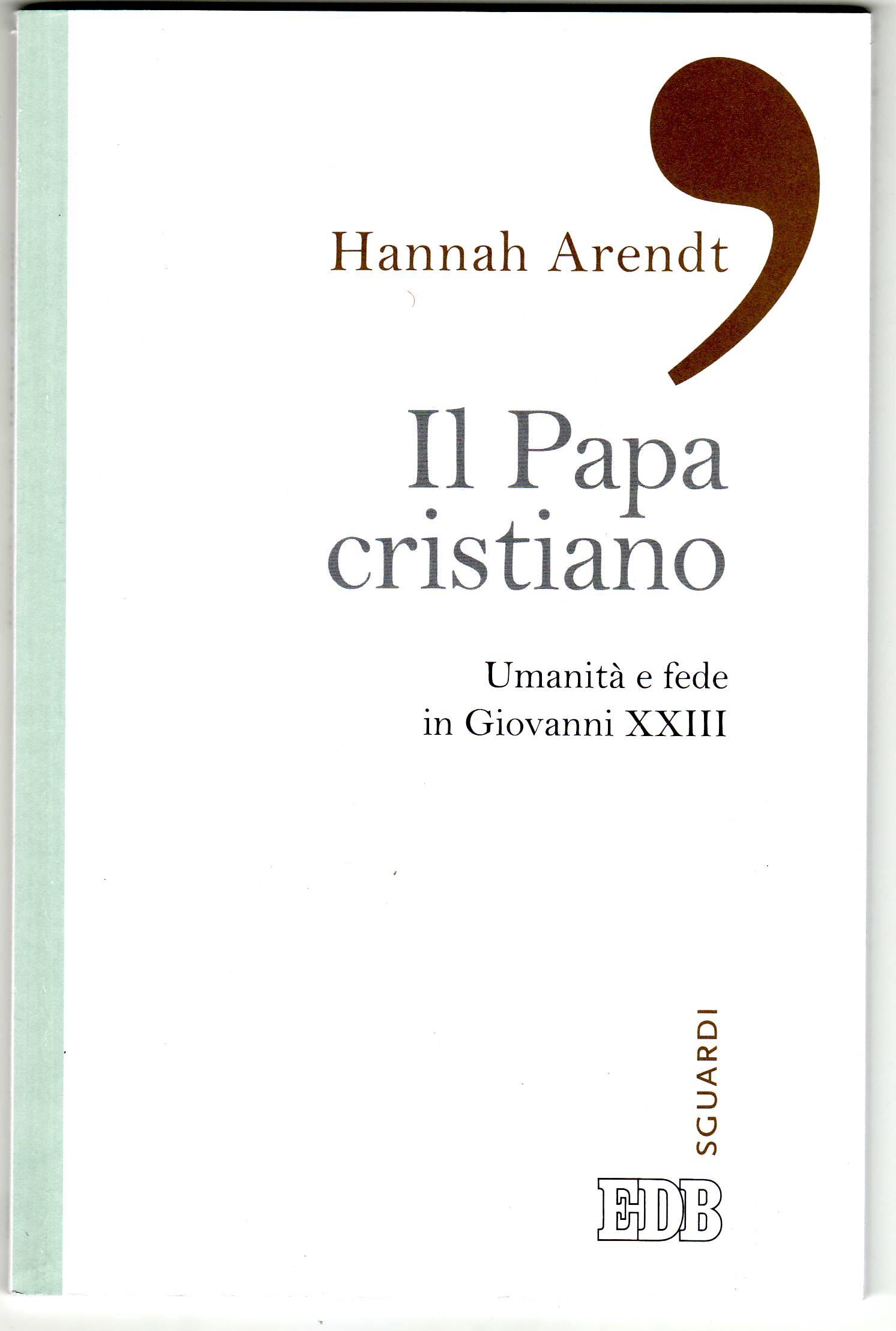 Il papa cristiano