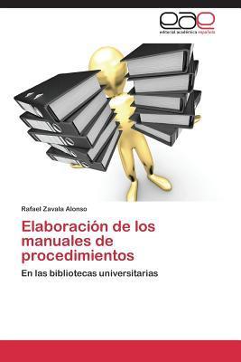 Elaboración de los manuales de procedimientos