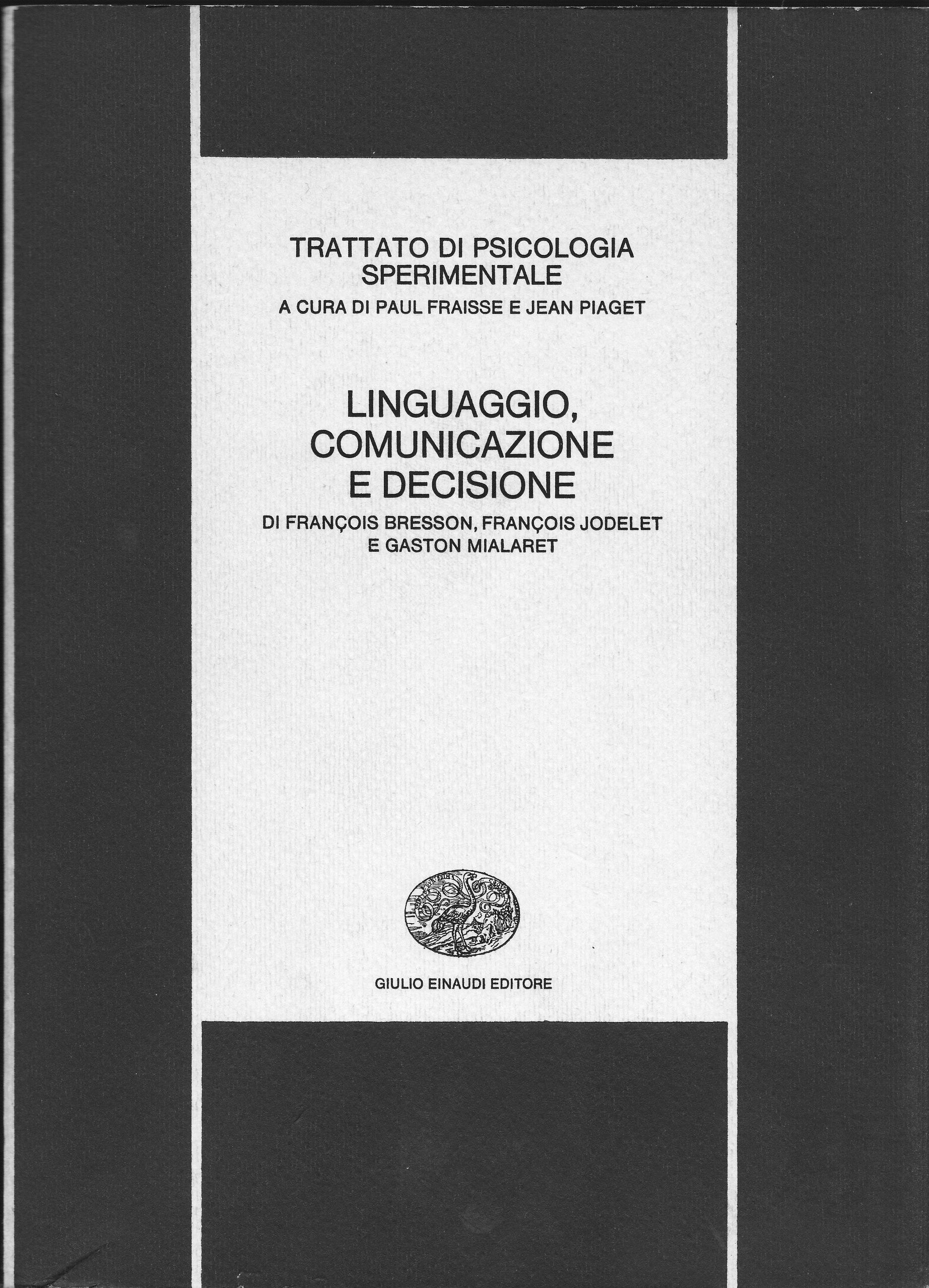 Trattato di psicologia sperimentale