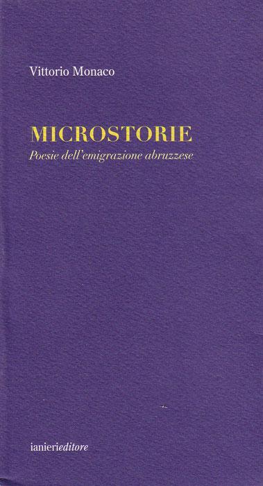 Microstorie. Poesie dell'emigrazione abruzzese