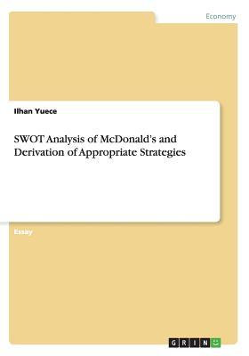 SWOT Analysis of McDonald's and Derivation of Appropriate Strategies