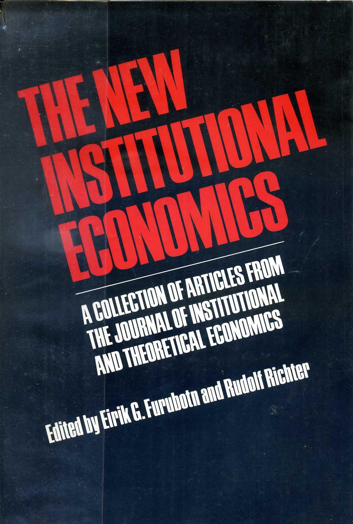 The New institutional economics