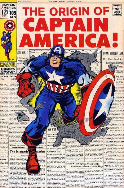 Captain America Vol.1 #109