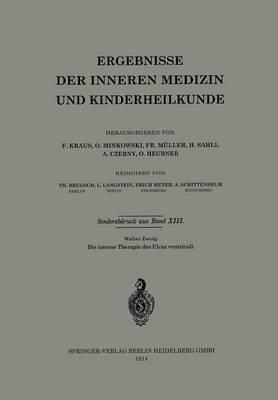 Die Interne Therapie Des Ulcus Ventriculi