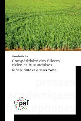 Competitivite des Filieres Rizicoles Burundaises