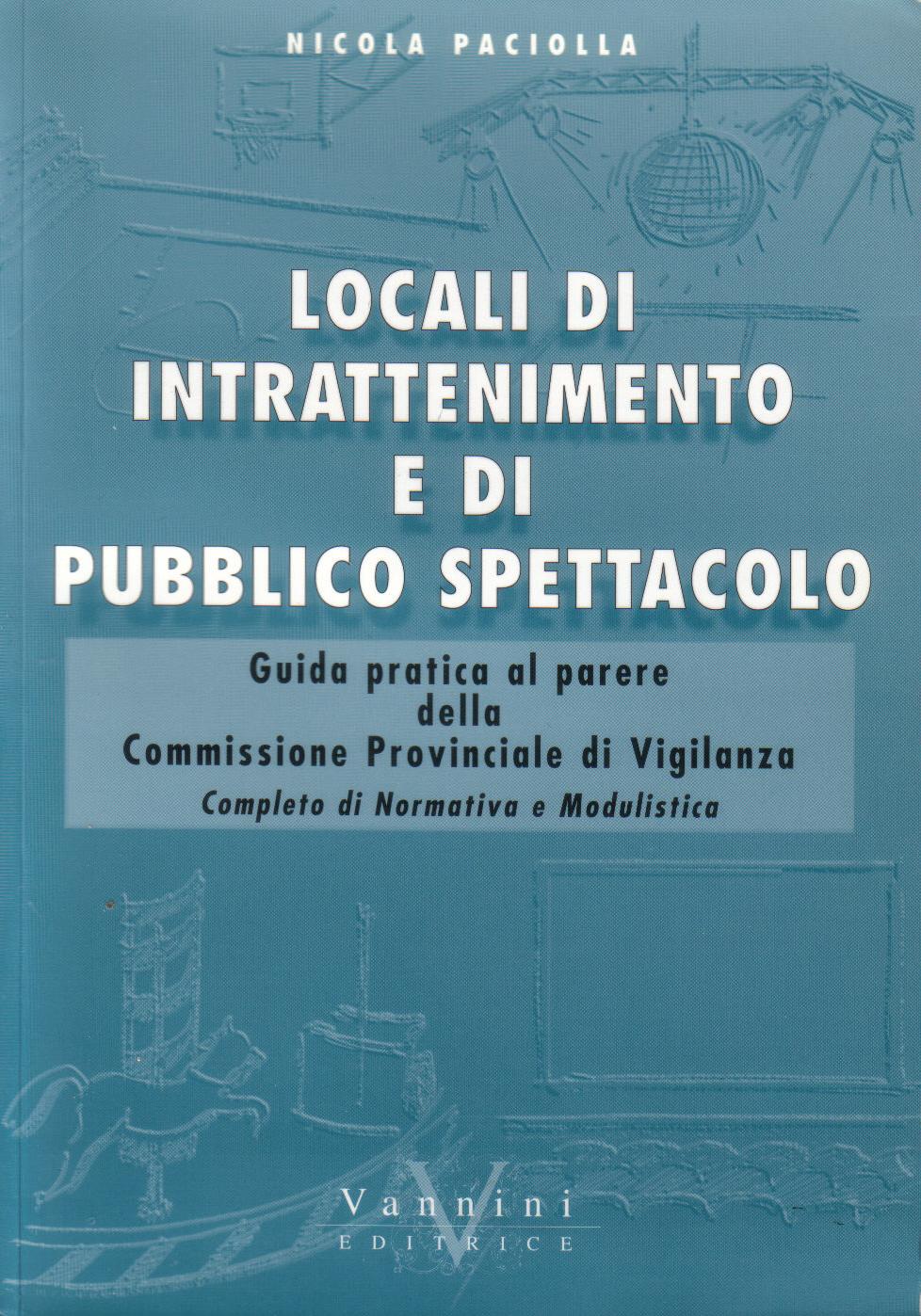 Locali di intrattenimento e di pubblico spettacolo