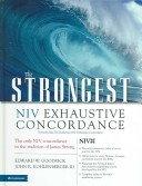 The Strongest NIV Exhaustive Concordance of the Bible, Value Price