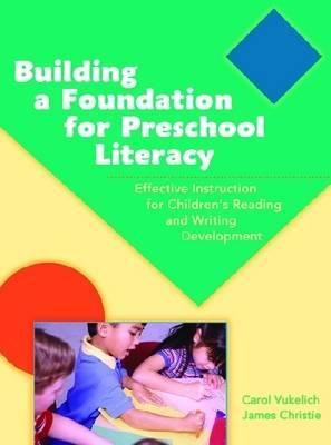 Building A Foundation For Preschool Literacy
