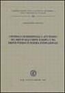 Controllo giurisdizionale e atti politici nel diritto dell'Unione Europea e nel diritto interno in materia internazionale