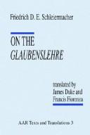 On the Glaubenslehre