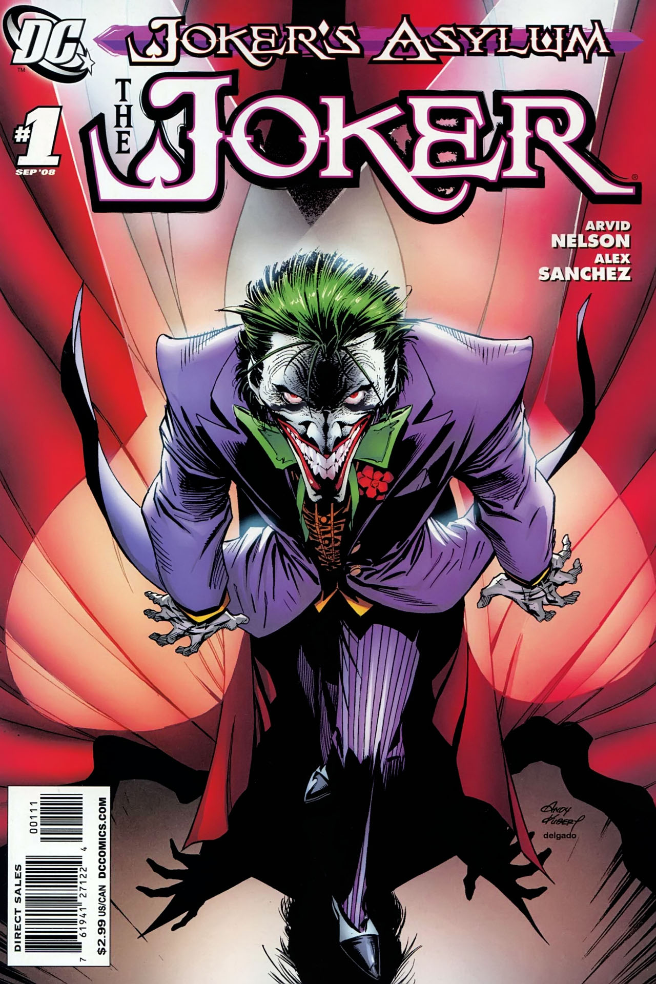 Joker's Asylum: The Joker Vol.1 #1