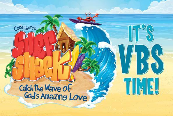Vacation Bible School Vbs 2016 Surf Shack Invitation Postcards