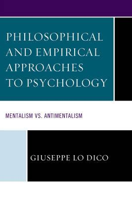 Philosophical and Empirical Approaches to Psychology