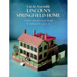 Cut and Assemble Lincoln's Springfield Home