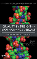 Quality by Design for Biopharmaceuticals