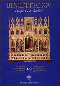 De Servorum Dei Beatificatione et Beatorum Canonizatione