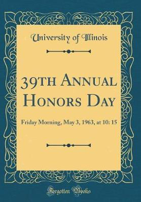 39th Annual Honors Day