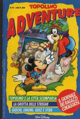 Topolino Adventure n. 13