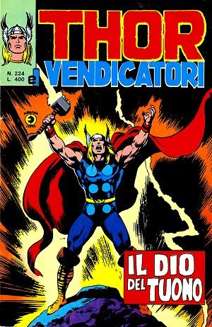 Thor e i Vendicatori (Il Mitico Thor) n. 224